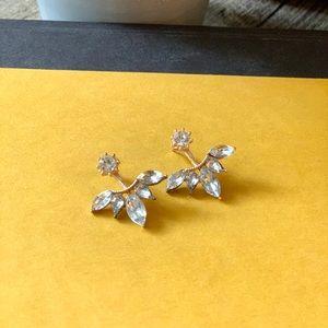 Jewelry - ✨ Stunning Rhinestone Ear Jacket - Earrings ✨